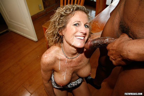 Interracial cum shot gallery