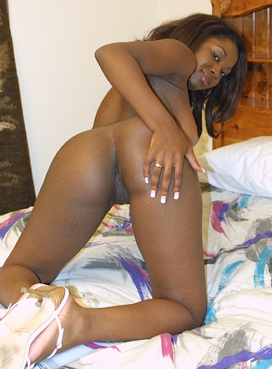 Ebony with tight pussy