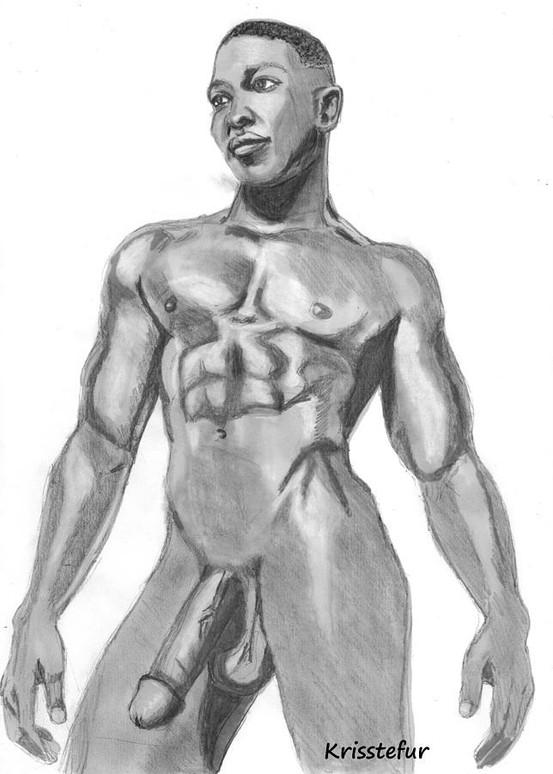 nude sketch pron