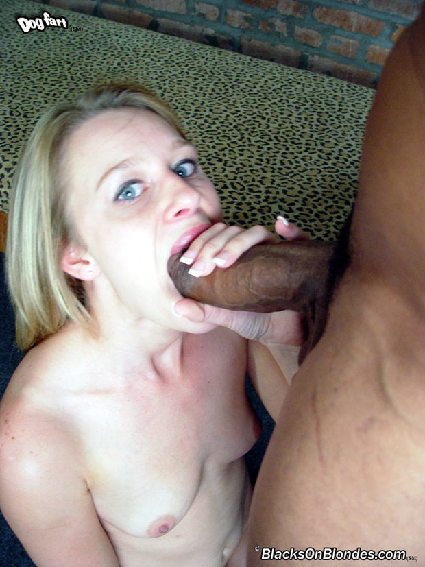 My cock her tiny mouth