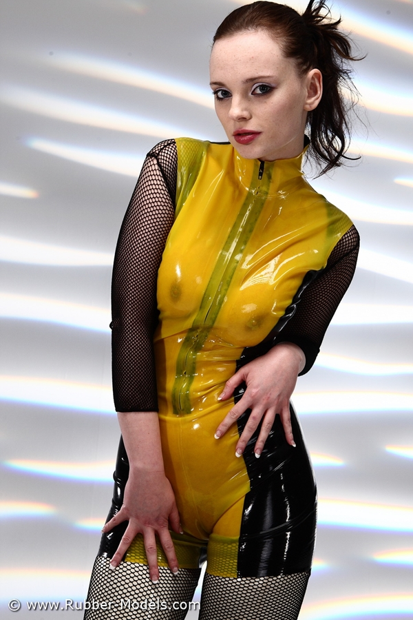 Latex dress; Fetish
