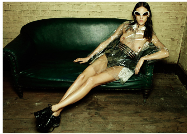 Emma Summerton for Fat Magazine, Reinvention Issue | Trendland: Fashion Blog; Fetish Latex