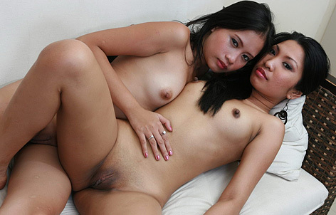Lesbian and shaved and asian