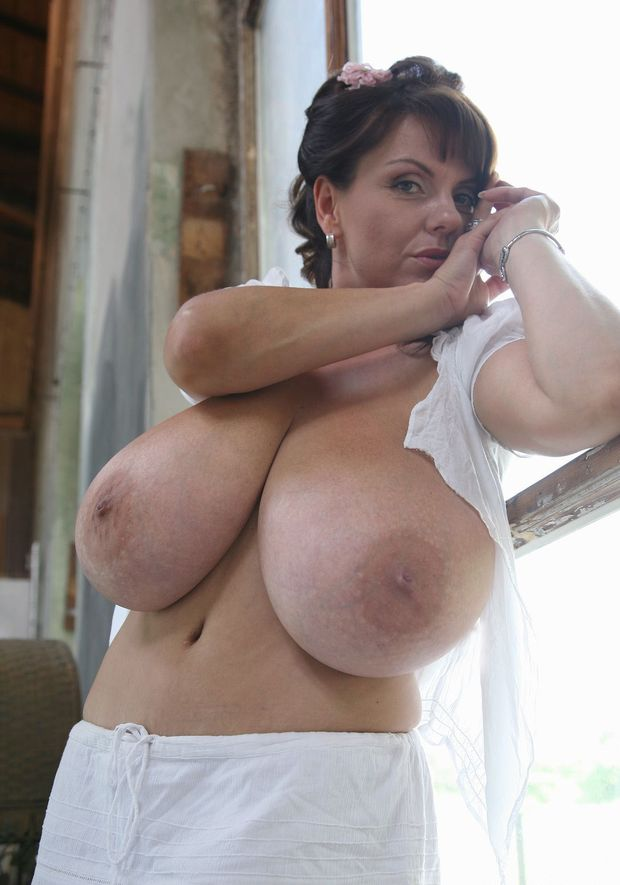 big boobs granny