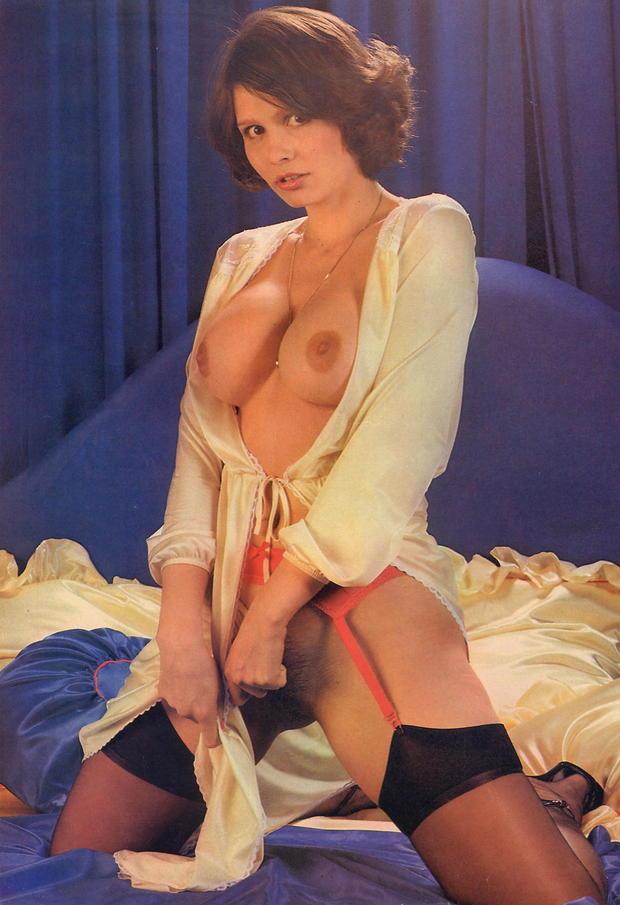 ; Babe Brunette Hairy Pornstar Vintage