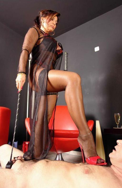 Joi german milf pantyhose high heels femdom domina 10