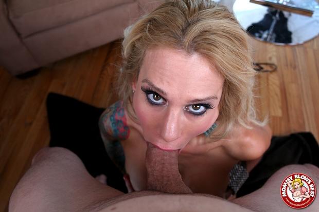 ...; Blonde Blowjob Mature MILF