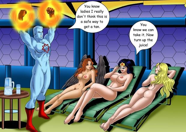 чудо женщина порно комикс