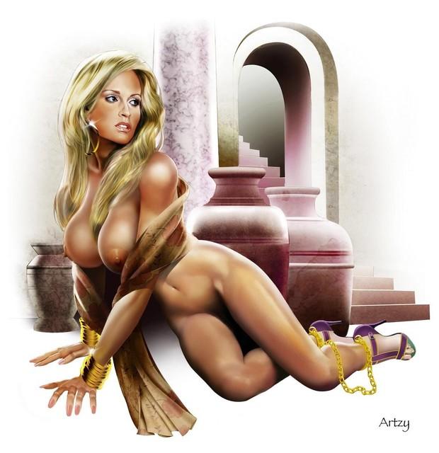эротические 3д рисунки