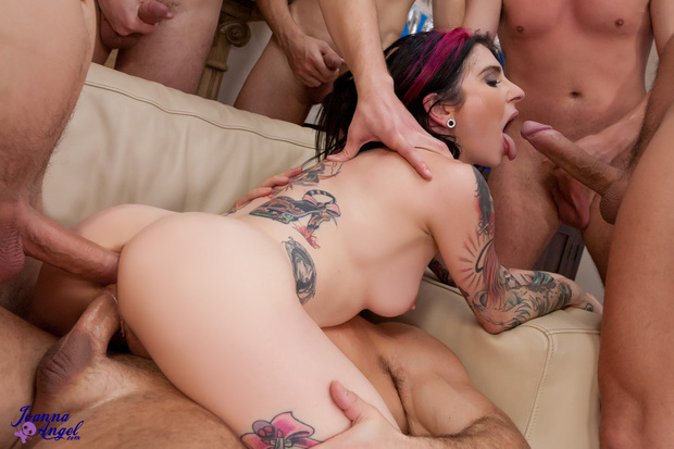 Burningangel black fucks emo punk chick 8