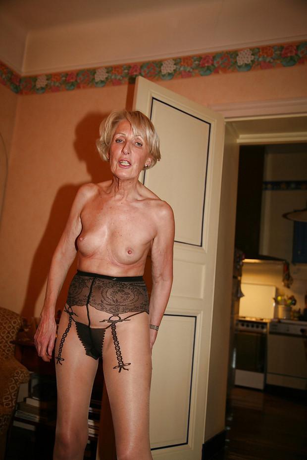 Old granny lingerie