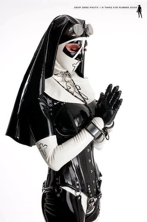 Nuns gone Bad; Fetish Latex